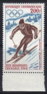 OL-E13 - CENTRAFRICAINE 1968 Yeux Olympices De Grenoble  ***  MNH . Complete Set - Inverno1968: Grenoble
