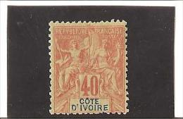 TIMBRES DES COLONIES FRANCAISES  1892  -  99  N° 10  * * - Unused Stamps