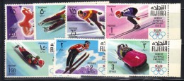 OL-E17 -  Fujeira Michel** N° 214/220 Jeux Olympiques (olympic Games) ***  MNH . Complete Set - Inverno1968: Grenoble