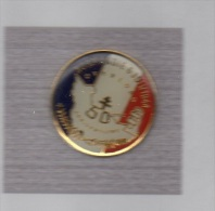 Pin´s  Rond  Militaire  NORMANDIE  6  JUIN  1944  OVERLORD  50 è  ANNIVERSAIRE - Army