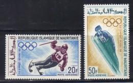 OL-E22 -  MAURITANIA Winter Olympic Games Grenoble  ***  MNH . - Inverno1968: Grenoble