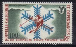 OL-E23 -  NEW CALEDONIA 1967 WINTER OLYMPICS  Grenoble  ***  MNH . Complete Set - Inverno1968: Grenoble