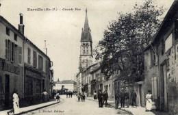52  EURVILLE Grande Rue  Très Animée - France