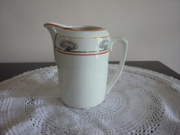 Faiencerie De Saint Ghislain - Ancien Pot à Lait - Other