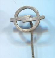 OPEL - Car  Auto  Automobile, Vintage Pin  Badge - Opel