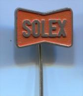 Motorbikes, Motorcycle - SOLEX, Carbrettors, France, Vintage Pin  Badge - Motorbikes