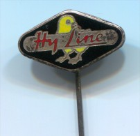 HY LINE -  Holland Netherlands, Vintage Pin Badge, Enamel - Merken
