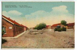CARTOLINA VUE DES BLOCS CAMP DE BEVERLOO LEOPOLDSBURG LIMBOURG BELGIO - Leopoldsburg (Camp De Beverloo)