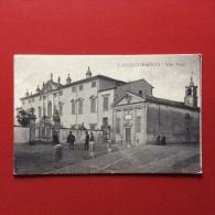 CASTELGOMBERTO - VILLA PORTO -  VIAGGIATA A TORINO NEL 1917 - EDITORE CECCHINO PAOLO - Vicenza
