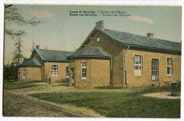 CARTOLINA PAVILLON DES OFFICIERS CAMP DE BEVERLOO LEOPOLDSBURG LIMBOURG BELGIO - Leopoldsburg (Camp De Beverloo)