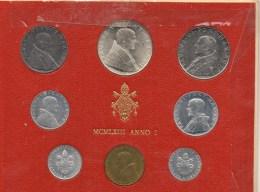 PIA - VATICANO - 1963 : Serie Monete Anno I°Pontificato Di  Paolo VI - 60.000  Serie - Vaticano