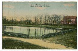 CARTOLINA  ABREUVOIR CAMP DE BEVERLOO LEOPOLDSBURG LIMBOURG BELGIO - Leopoldsburg (Camp De Beverloo)