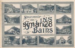 SALINS-LES-BAINS - SOUVENIR DE SALINS-LES-BAINS - Frankreich