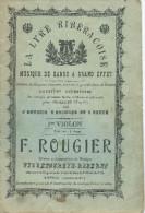 """Partition : """"La Lyre Ribéracoise"""" - Musique De Danse à Grand Effet / 1er Violon. - Etude & Enseignement"""