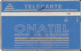 TARJETA DE BURUNDI DE 20 UNITS DE ONATEL (001B) - Burundi