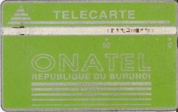 TARJETA DE BURUNDI DE 50 UNITES DE ONATEL (106C) - Burundi