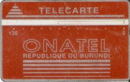 TARJETA DE BURUNDI DE 120 UNITES DE ONATEL (001B) - Burundi