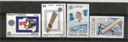 ANDORRA / ANDORRE. Europa 1991. L´Europe & L´Espace. Observatoire Astronomique.  4 T-p Neufs **  Côte 25,60 € - Astronomie