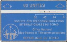 TARJETA DE TCHAD DE 60 UNITES  (903C) - Tsjaad