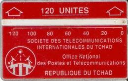 TARJETA DE TCHAD DE 120 UNITES  (244C)
