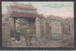9622-ANNAM(VIET-NAM)-HUE´-LE PRESIDENT DU CONSEIL DE LA FAMILLE ROYALE EN COSTUME DE COUR-FP - Vietnam