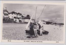 BUDLEIGH SALTERTON - THE BEACH - YACHT - VOILIER - FRITHS SERIES - Inghilterra