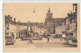 SAINT DIE  Place Jules Ferry Animée, Félix Potin - Saint Die