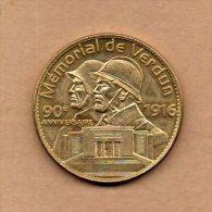 Monnaie Arthus Bertrand : Mémorial De Verdun - 90ème Anniversaire - 2007 - Arthus Bertrand