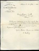 Courrier *** Alençon (Orne 61 ) *** A. MAULOISE Fils, Fonderie De Fer, 9 Boulevard De Strasbourg *** 1916 - France