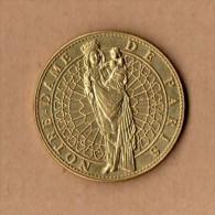 Monnaie Arthus Bertrand : Notre-Dame De Paris - La Vierge - 2007 - Arthus Bertrand