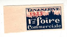 Ticket D'entrée - 1re Foire Commerciale De Tananarive (Madagascar) - Tickets D'entrée