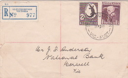 Australia 1948 Bull And Crocodrile Registered FDC - FDC