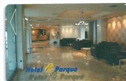 HOTEL PARQUE VALLADOLID, Llave Clef Key Keycard, Karte - Hotel Labels