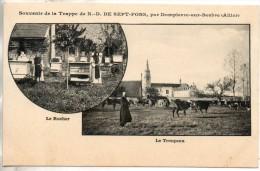 03. Souvenir De La Trappe De ND De Sept Fons. Le Rucher. Le Troupeau - Other Municipalities