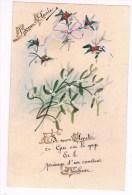 30460 ( 2 Scans ) Perkament - Parchemin - Parchment - Bonne Annee - Other