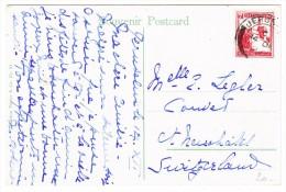 Palästina - Jerusalem 14.12.1921 Auf AK Jerusalem Jehoshaphais Tal Nach Couvet NE - Palestine