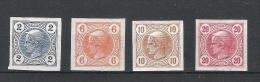 Kaiserreich 1899 Merkurkopf Satz ANK 97 - 100, *,  KW: 10�
