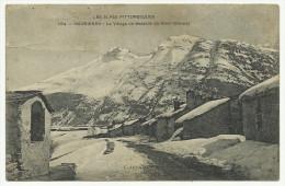 MAURIENNE - LE VILLAGE DE BESSANS  EN HIVER - Saint Michel De Maurienne