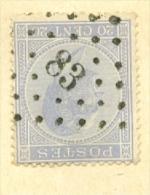 België/Belgique 18  L 83  Ciney  Nipa + 100 - 1865-1866 Profil Gauche