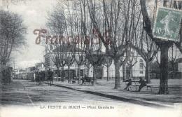 (33) La Teste De Buch - Place Gambetta - 2 SCANS - France