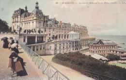 C P A---64---BIARRITZ---le Casino Bellevue Et Les Bains Chauds ---voir 2 Scans - Biarritz