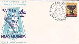 Papua New Guinea 1970 Jamboree Of New Endeavour Souvenir Cover - Papua New Guinea