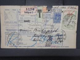 HONGRIE - Détaillons Collection De Bulletins  D Expéditions  - Colis Postaux  - A Voir - Lot N° P5410 - Paketmarken
