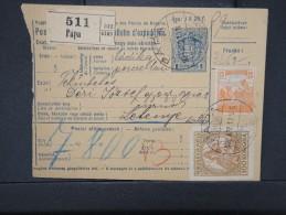 HONGRIE - Détaillons Collection De Bulletins  D Expéditions  - Colis Postaux  - A Voir - Lot N° P5412 - Paketmarken