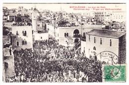 Palästina - AK Bethlehem Pilger Am Weinachtsfest Gesendet Nach Paris Aus Jerusalem Datum ? - Palestine