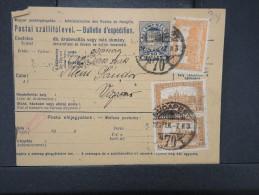 HONGRIE - Détaillons Collection De Bulletins  D Expéditions  - Colis Postaux  - A Voir - Lot N° P5415 - Paketmarken