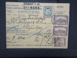 HONGRIE - Détaillons Collection De Bulletins  D Expéditions  - Colis Postaux  - A Voir - Lot N° P5417 - Paketmarken