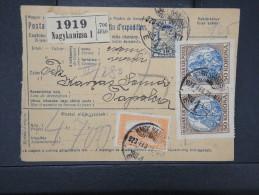 HONGRIE - Détaillons Collection De Bulletins  D Expéditions  - Colis Postaux  - A Voir - Lot N° P5418 - Paketmarken