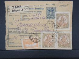 HONGRIE - Détaillons Collection De Bulletins  D Expéditions  - Colis Postaux  - A Voir - Lot N° P5419 - Paketmarken