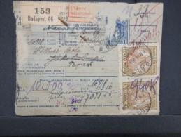 HONGRIE - Détaillons Collection De Bulletins  D Expéditions  - Colis Postaux  - A Voir - Lot N° P5420 - Paketmarken